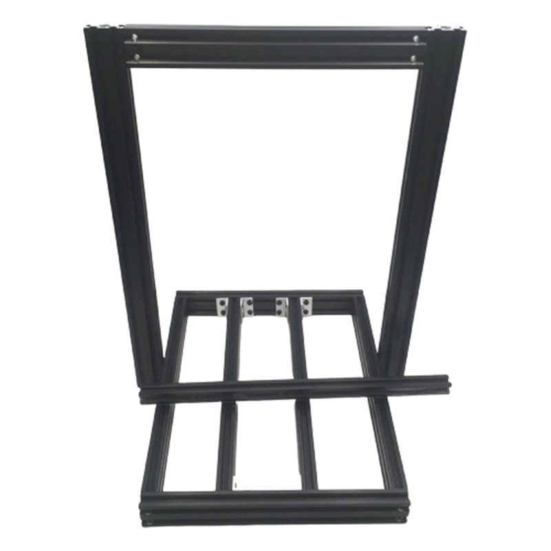 BLV Anet A8 / AM8 / Prusa I3 Clone Mgn12 Linear Rail 3D Printer Frame Mod For  BLV Mgn AM8 Extended Frame Extrusion MGN Rails