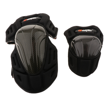 2 Pair Motorcycle Riding Anti-fall Knee Elbow Protector Guard Pads