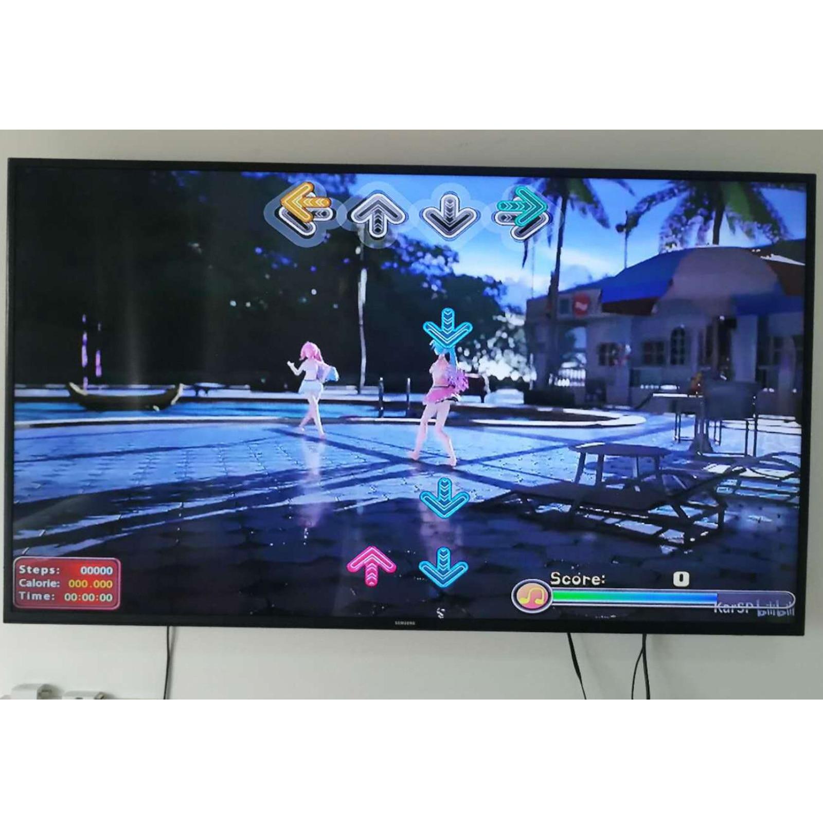 Single User Dance Mats Non-Slip Dancers Step yoga Pads Sense Game for PC Children Kids Doll Toys Girls Boys Birthday Gifts-2
