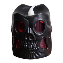 LED Skull Candle Light Decoration Night Lamp for Halloween Club Party Festival WWO66