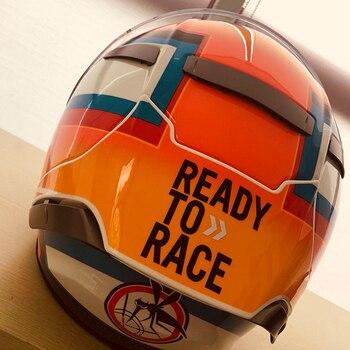 Pegatinas de diseño para coche, tanque de aceite para motocicleta, pegatinas laterales para carrocería casco GP Visor para Duke1090 390 1290ADV listo para carreras