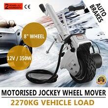 12V 350W Motor Elektrische Power Anhänger Mover Camper Caravan Boat Trailer Jack mit Solide Gummi Rad Zunge Jack