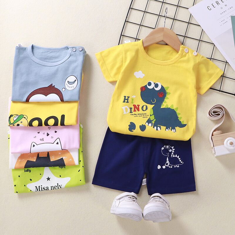 Baby GIrls Clothing 2pc Long Sleeve Duck Tops+Leggings Cartoon Casual Cotton Set