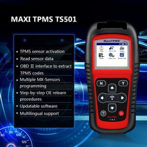 Image 2 - I sensori di pressione dei pneumatici TPMS Autel TS501 attivano e decodiscono lo strumento come TS508 TS601