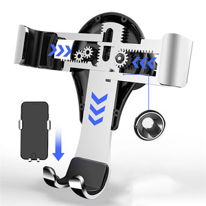 Image 3 - נייד טלפון מגנטי מחזיק Stand עבור בנץ GLA CLA ברמה B  Class רכב אוויר Vent הכבידה Celll טלפון ניווט הר Bracket