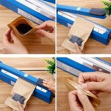 Diseño práctico Clip eléctrico de alimentos sellador por calor al vacío portátil de vacío doméstico máquina de sellado de alimentos herramienta de cocina