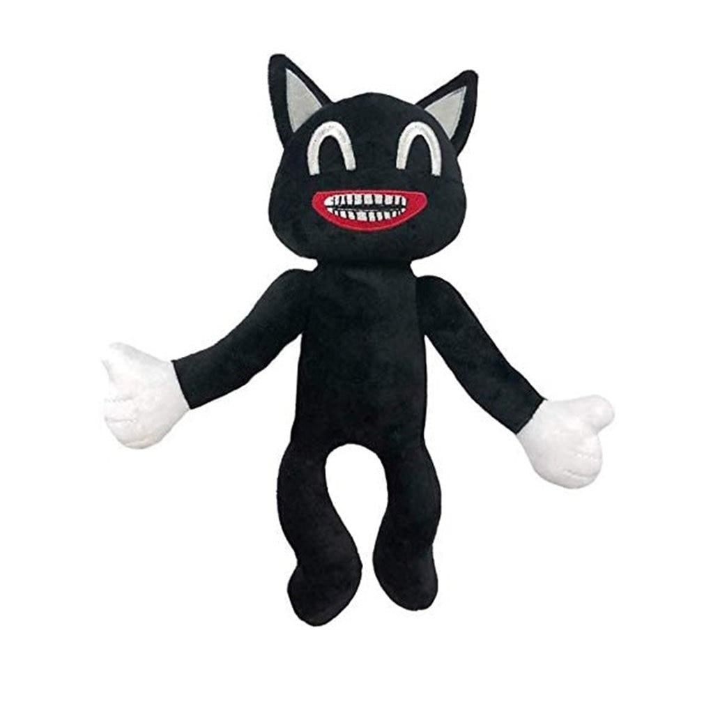 30*20 см аниме сирены, плюшевые игрушки мультфильм Sirenhead мягкие Животные кукла хоррор с изображением черного кота, Peluches игрушки для детей Рожд...