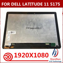 Für DELL Latitude 11 5175 ersatz 2 IN 1 LED touch digitizer 5179 LCD montage
