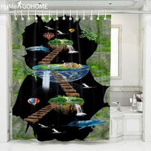 Cartoon Waterproof Fabric Shower Curtains Bathroom Curtain Mildewproof Polyester 3d Curtains For Bath Home Decor Duschvorhang beige polyester flannel europe embroidered blackout curtains for living room bedroom window tulle curtains home hotel villa