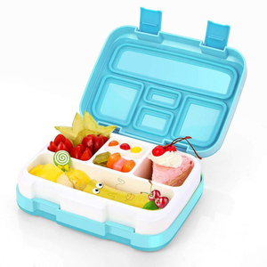 2 Layer Kids Lunch Box Tiffin Box for Kids Food Storage Container Bento Lunchbox Cute Gift Kindergarten Outing Picnic Meal Prep