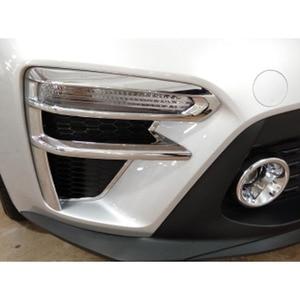 Image 5 - Para kia cerato k3 4 2019 2020 frente luz de nevoeiro guarnição capa acessórios do carro plástico cromo