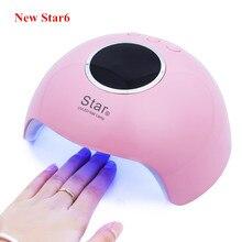 Secador de unha 30w uv led, lâmpada para cura de unhas de gel, esmalte para manicure e salão de beleza ferramentas,