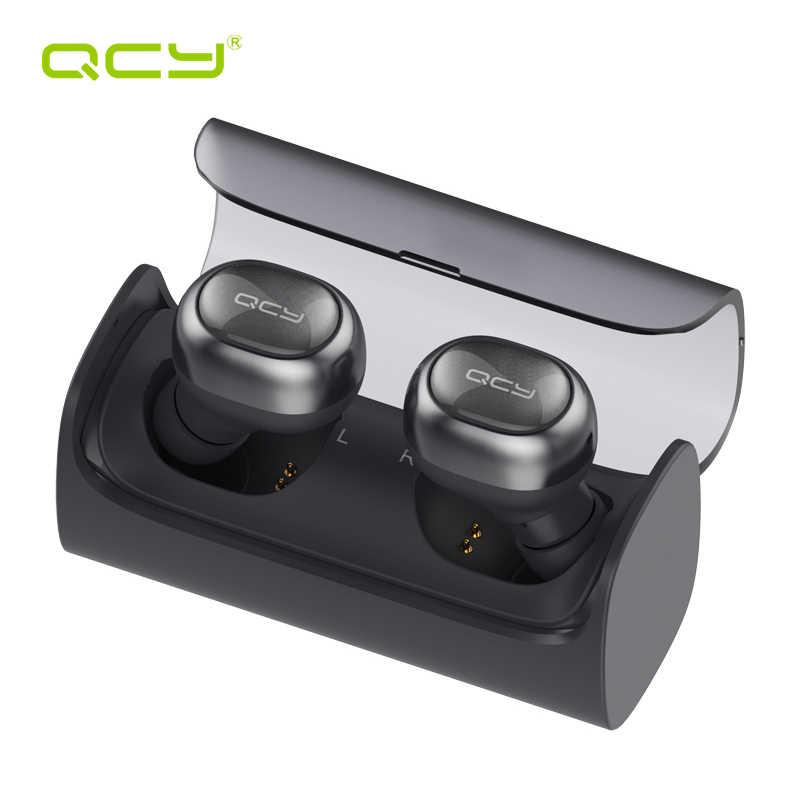 QCY Q29 ワイヤレス bluetooth イヤホンステレオイヤホン自動接続イヤフォンとポータブル収納ポーチ