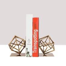 Kreative Mode Buchstütze Home Dekoration Moderne Buch Stände Hause Zubehör Montage Schreibtisch Bücherregal Handwerk Ornamente