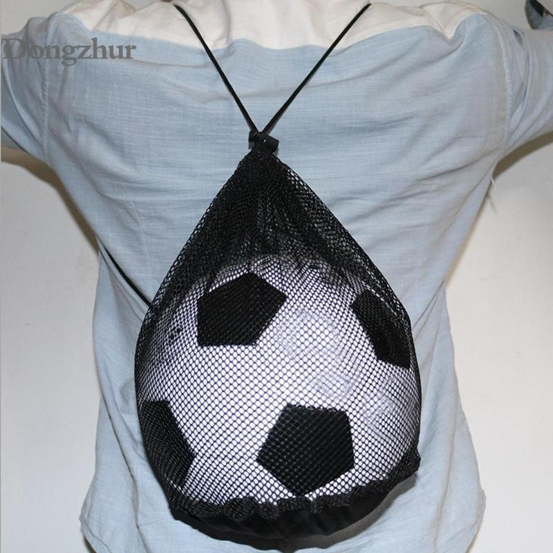 Convenient Universal Sport Ball Bag Basketball Football Volleyball Bags Soccer Rugby Training Cones Backpack Handbag Storage
