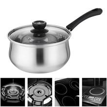 1.5L кастрюля из нержавеющей стали, кастрюля для супа, многоцелевая кухонная посуда с пароваркой, кухонная сковорода с антипригарным покрытием, общее использование