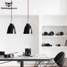 Industrial Led Pendant Lights Modern Black Iron Lamp Cafe Bar Decoration Light Living Room Loft Fixtures