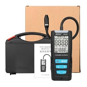 MESTEK CGD-02 Gas Analyzer CO Monitor Meter Automotive Combustible Gas Sensor Detector Air Quality Monitor Gas Leak Detectors
