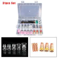 Cup-Kit Gas-Lens Glass Welding-Torch TIG 12-Pyrex for Wp-17/18/26-welding-accessories