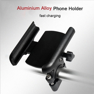 Image 2 - 360 Degree Aluminum Alloy Cycling Stand Bracket Adjustable Bike Bicycle Handlebar Mount Motorcycle Rear View Mirror Phone Holder