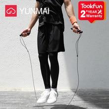 Xiaomi YUNMAI akıllı 3m hız atlama ipi sayacı profesyonel atlama ipi Fitness atlama egzersiz eğitimi kolu Crossfit