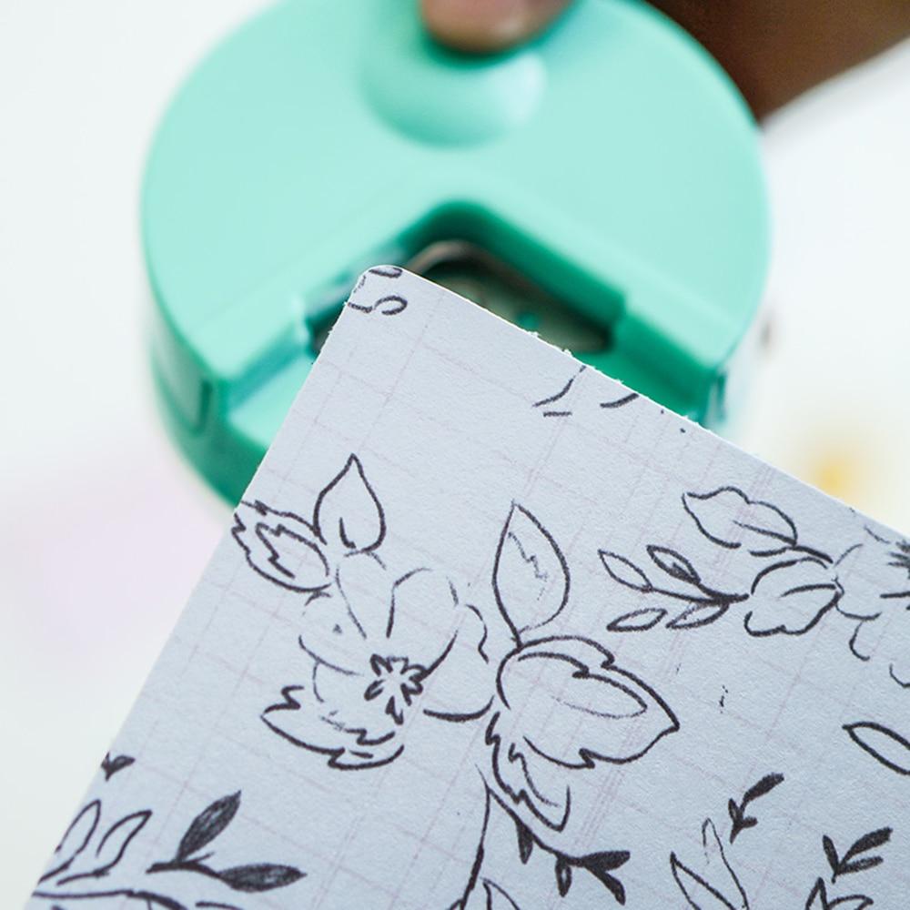 Korean R4 Corner Rounder 4mm Border Punch Card Photo Cutter Tool Craft Scrapbooking DIY Tool School Children Stationery