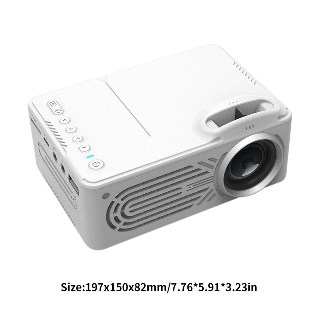 814 mini mini portátil casa entretenimento projetor