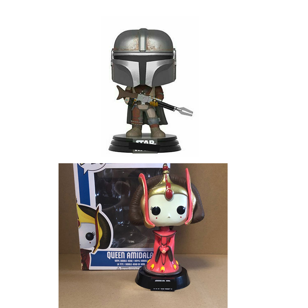 NEW STAR & QUEEN AMIDALA #29  The mandalorian #326 with box Figure POP Toys Collection model toy for children|Action & Toy Figures|   - AliExpress