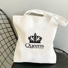 Crown Cloth Bag Customizable Tote Shoulder Designer Handbags Free Shipping Bags Women