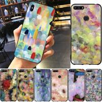 Funda multicolor para teléfono móvil Huawei, carcasa colorida para móvil Huawei Honor 8X9 10 20 V 30 Pro 10 20 Lite 7A 9lite