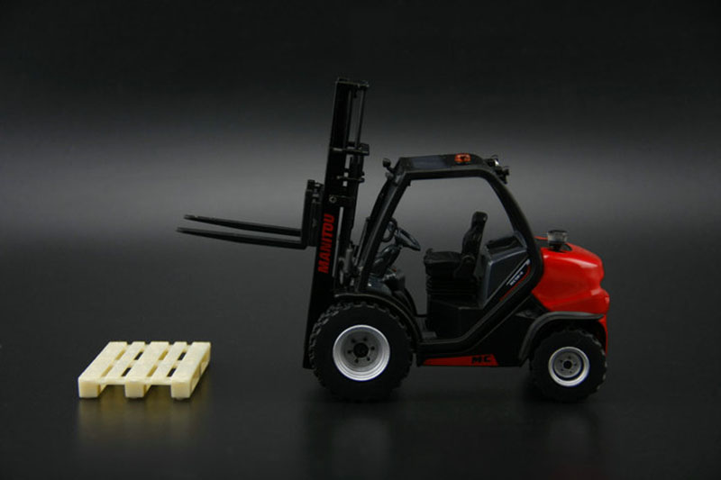 Ros 1:32 Chariot Manitou Mc18  Alloy car model  Forklift