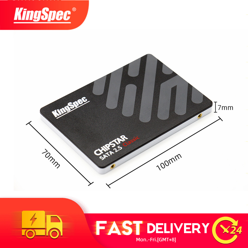 KingSpec 2.5 Inch SATA3 Ssd 120GB 240GB Hard Disk S400 Series Sd 480GB 960GB SSD Hard Drive High 960gb For Desktop Laptop Pc