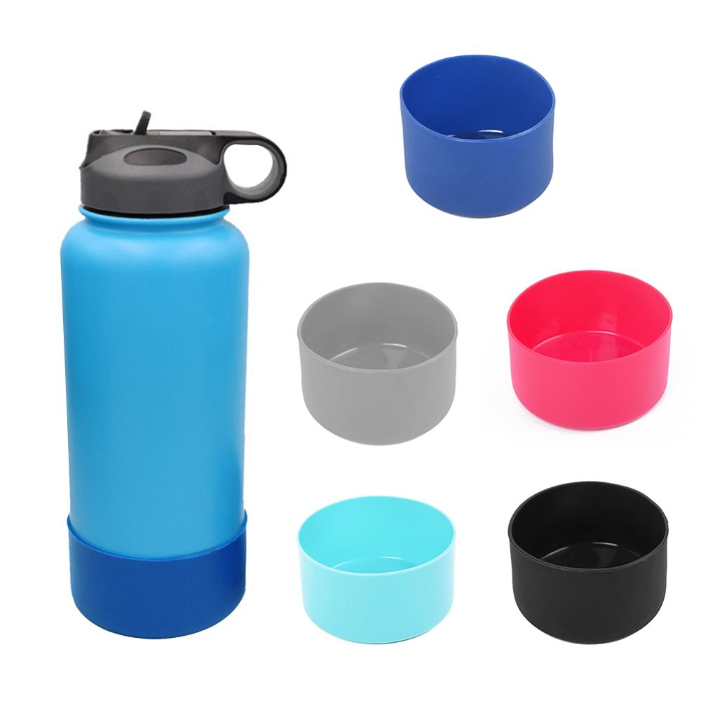1 Pcs 32&40oz Slip-proof Silicone Boots Sleeves Fit For Hydro Flask Water Bottle Outdoor Coturno Bike Bottle Boot Cycling Anti-S