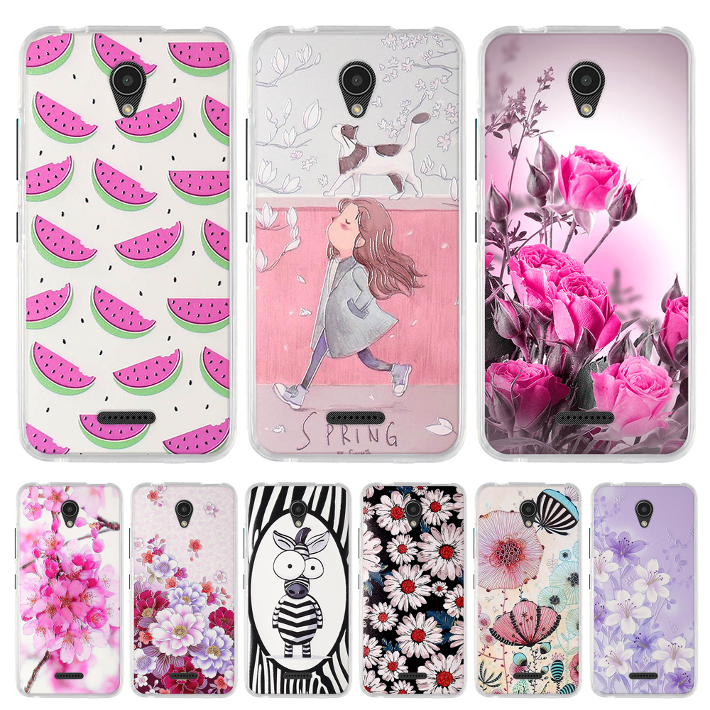 <font><b>Case</b></font> <font><b>For</b></font> <font><b>Lenovo</b></font> <font><b>A1010</b></font> A2016 A20 A Plus Cover Soft TPU Silicone Fundas <font><b>For</b></font> <font><b>Lenovo</b></font> APlus A1010a20 A 1010 4.5 '' Flower Phone <font><b>Cases</b></font> image