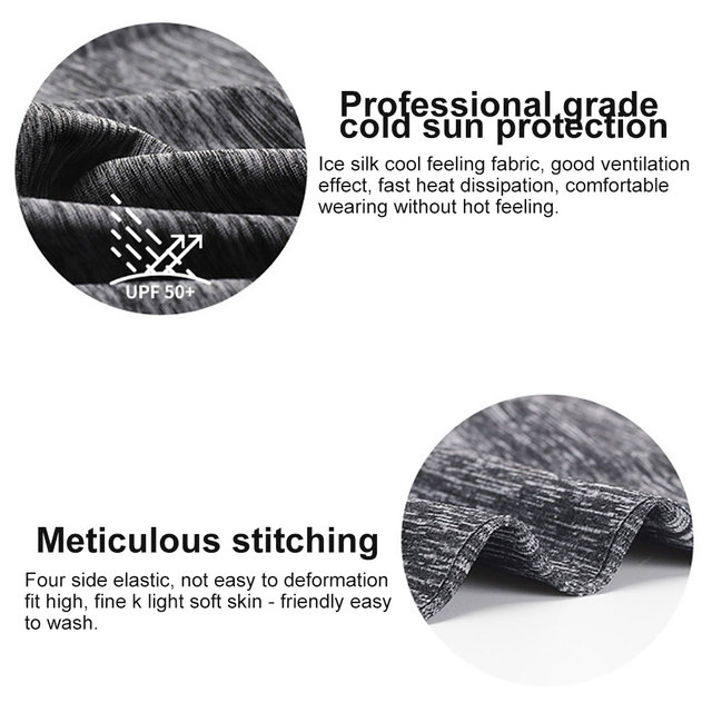 Summer Breathable UV Sun Protection Triangle Scarf Outdoor Cycling Face Mask 4
