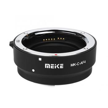 Meike MK-C-AF4 Auto Focus Lens Adapter Ring for Canon EOS-M Mount Mirrorless Cameras to Camera EF EF-S