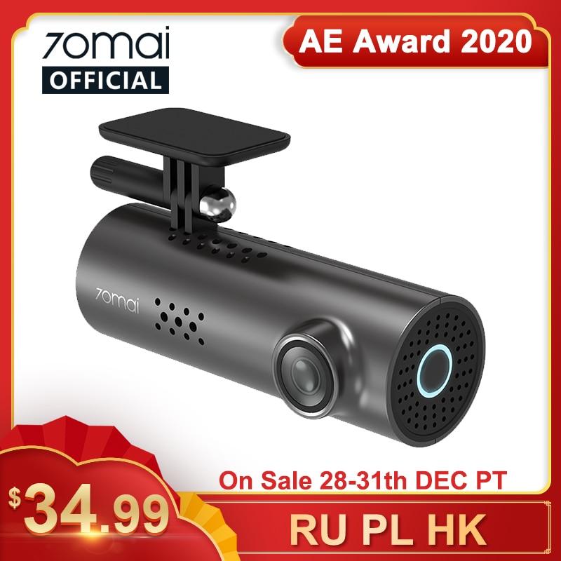70mai Car DVR 1S APP & English Voice Control 70mai 1S 1080P HD Night Vision 70mai 1S Dash Camera Recorder WiFi 70mai Dash Cam 1