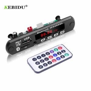 Image 5 - KEBIDU פענוח לוח מודול Bluetooth MP3 LED 12V DIY USB TF רדיו FM מודול אלחוטי Bluetooth מפענח שיא MP3 נגן