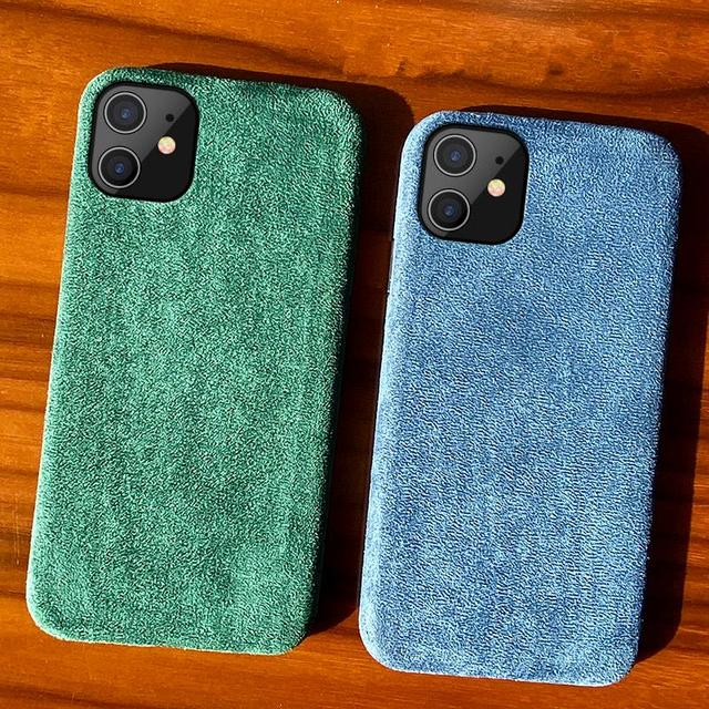 Luxury Suede Leather  iPhone Case