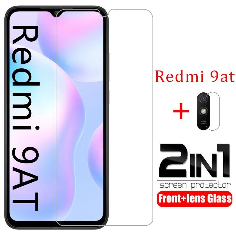 Чехол для redmi 9at, защитная пленка для экрана, пленка для объектива камеры из закаленного стекла для xiaomi readmi 9 at redmi9at, защитный чехол для телефо...