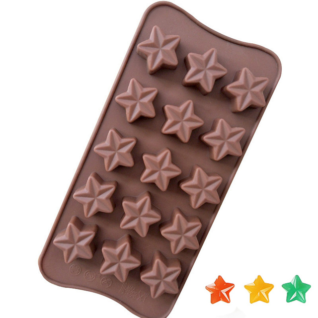 estrella Molde de SILICONA para hacer Gofres ecológico sostenible natural cocina