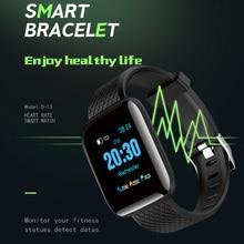 2019 Smart Watch Men Heart Rate Monitor Fitness Tracker Wate