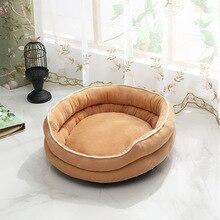 Качественные кровати для собак, коврик для средних собак, 68x58x30 см, для маленьких питомцев, щенков, питомцев, кошек, одеяло, домашние животные, утолщенный мягкий матрас для домашних животных