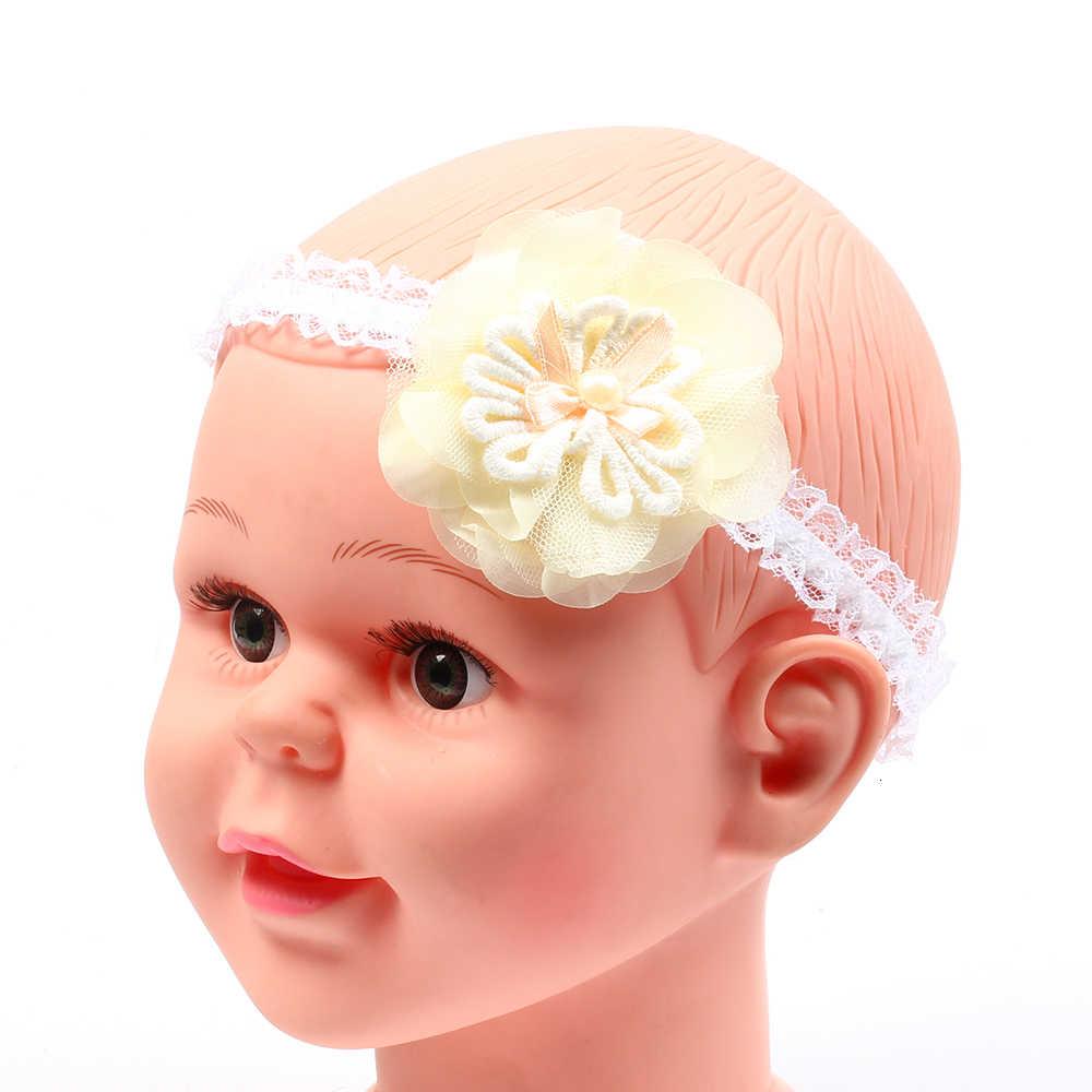 תינוקת אביזרי שיער להקת פרח יילוד כובעי כיסוי ראש גומייה לשיער מתנה פעוטות בגדים