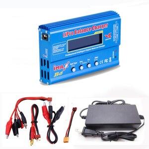 Image 1 - Cargador de batería Lipro Balance, cargador iMAX B6, cargador de equilibrio Digital Lipro + adaptador de corriente 12V 6A, Cables de carga