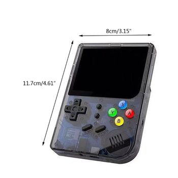 1 juego Retro de consola de videojuegos RG300 3,0 pulgadas pantalla IPS mando de juegos 16GB B85A