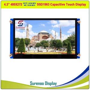 "Image 1 - 4,3 ""480*272 SSD1963 Kapazitive/Resistive Touch 16_Bit MCU TFT LCD Modul Display Panel"