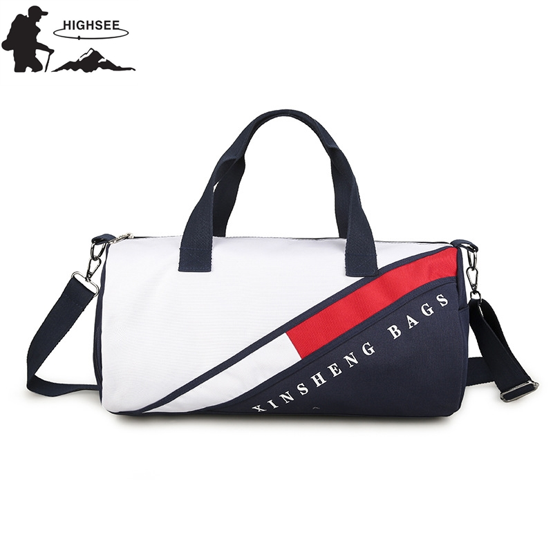 Fitness Bag For Gym Women Gym Bag With Shoe Compartment Training Sport Bag For Women Fitness Waterproof Outdoor Travel Handbag