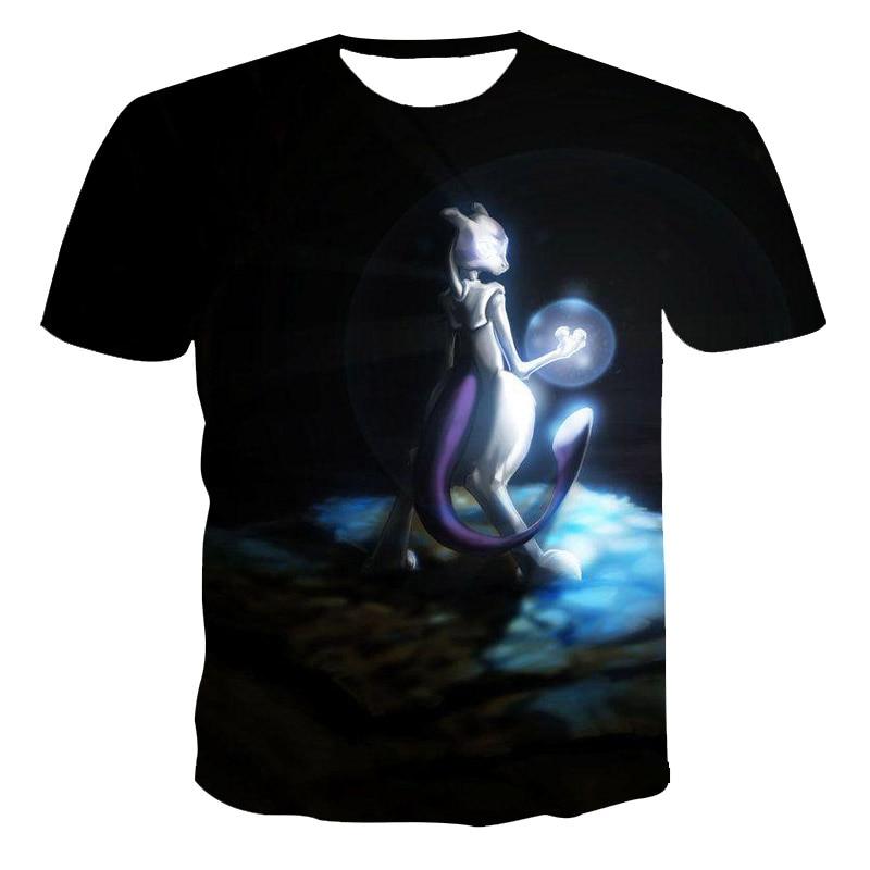 Новинка 2021, модная мужская и женская футболка с милым маленьким животным, летняя повседневная футболка, быстросохнущая футболка с 3D-принтом