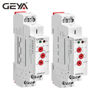 Image 5 - GEYA relé de Control de temperatura de refrigeración de Tipo de carril Din, con Sensor AC/DC24V 240V 16A, relés electrónicos con Sensor